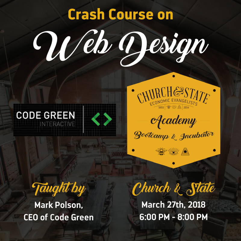 Church & State Academy Web Design Course