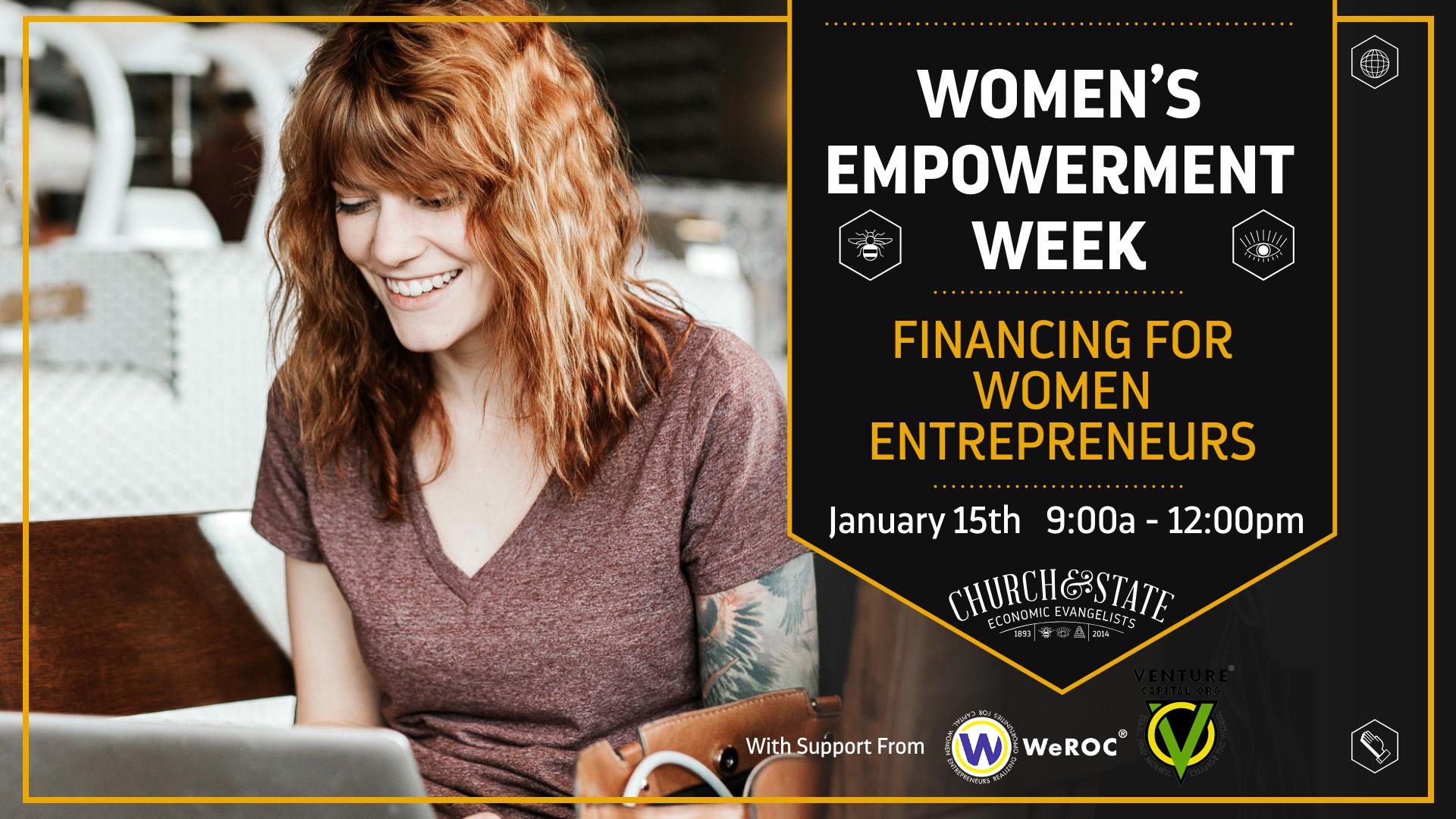 Women's Empowerment Week: Financing for Women Entrepreneurs