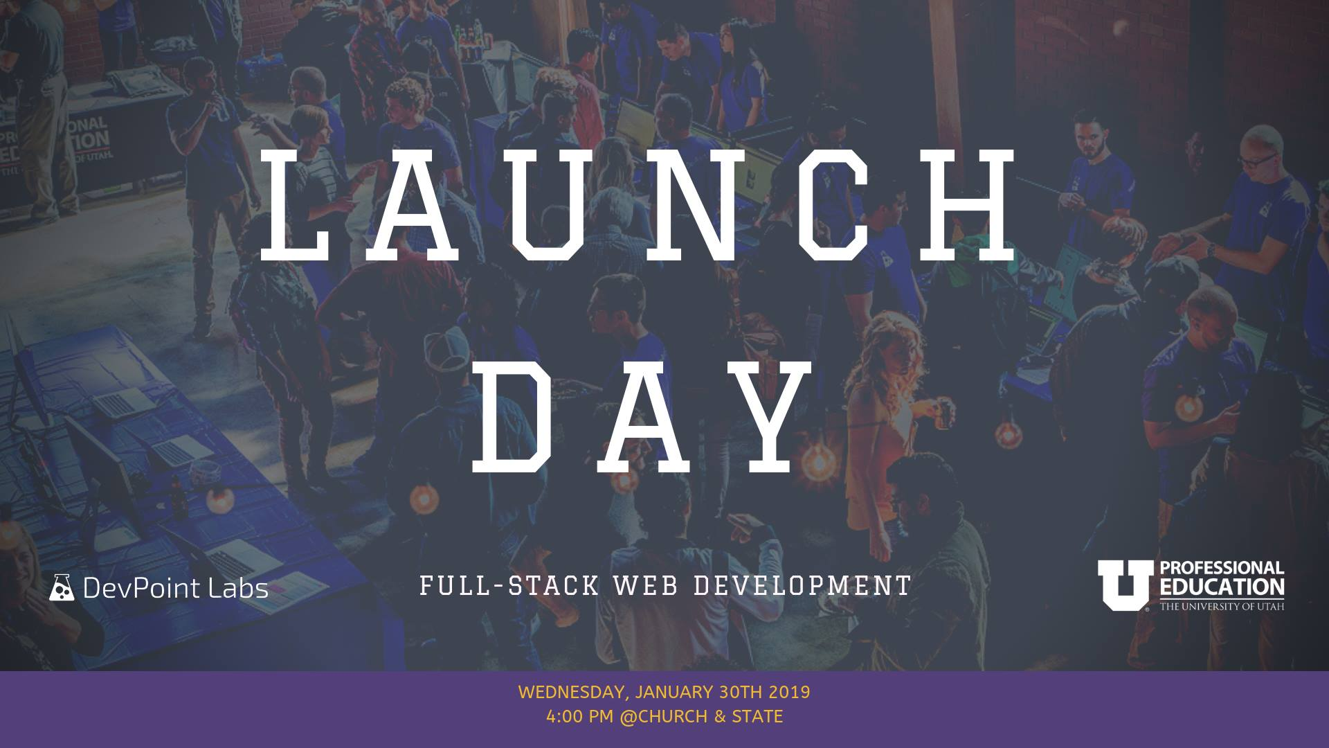 DevPoint Labs Launch Day: Winter 2018