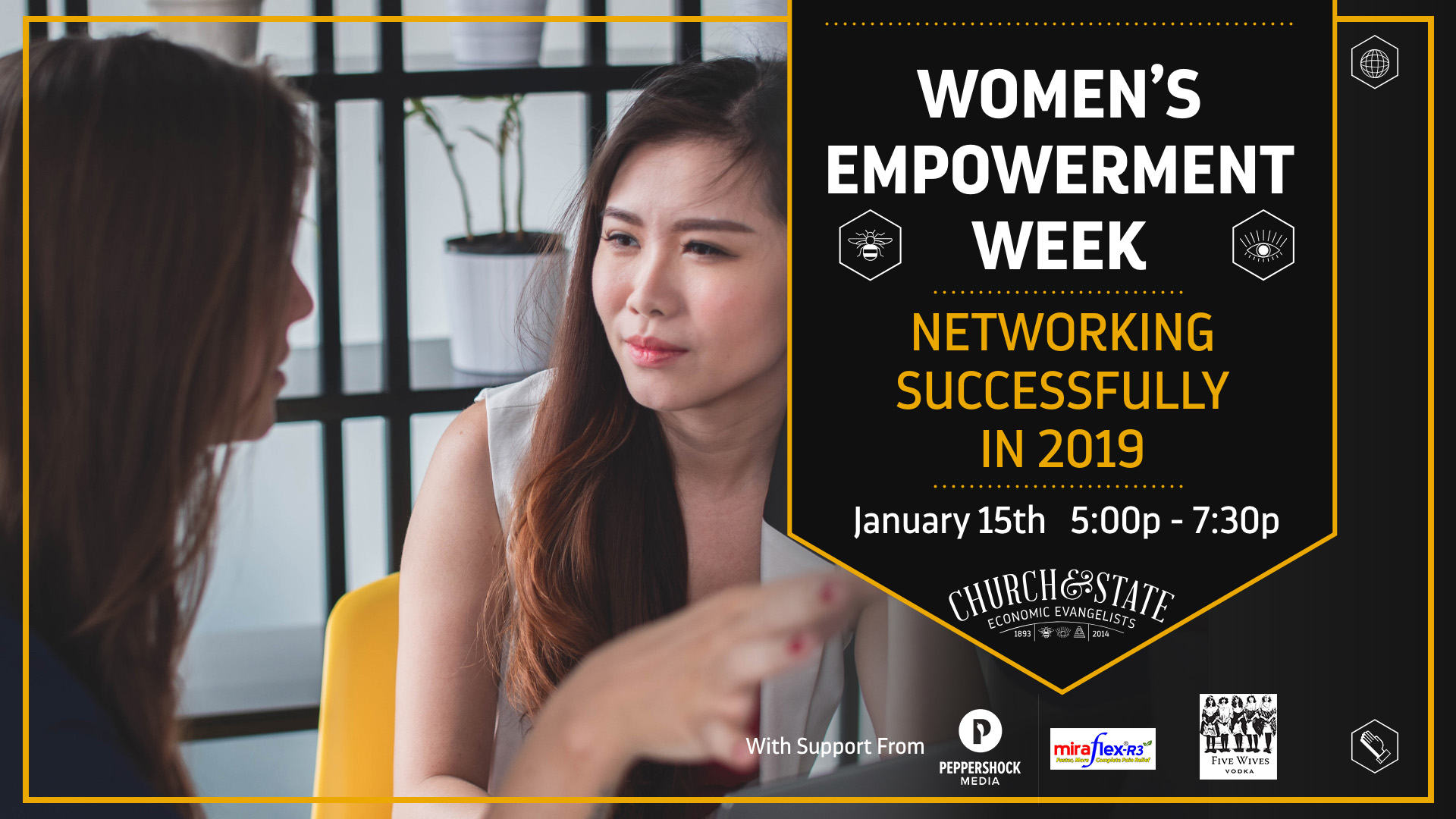Women's Empowerment Week: Networking Successfully in 2019