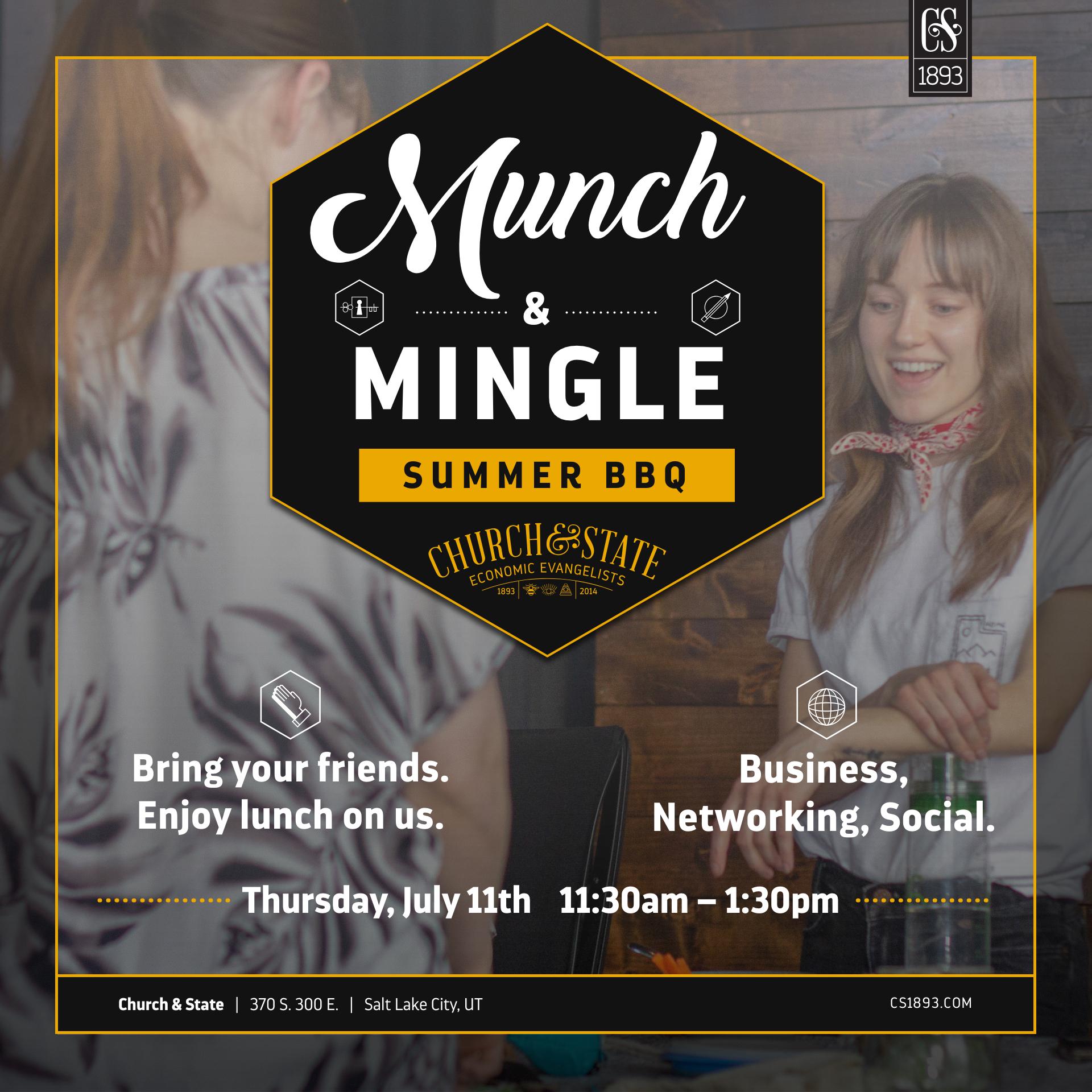 Munch & Mingle: Summer BBQ